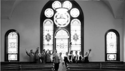 hall and wedding