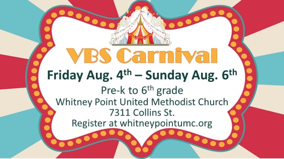 VBS carnival
