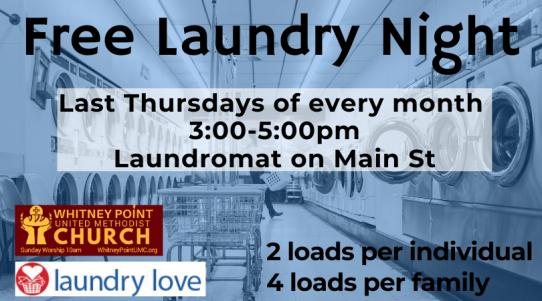 Free Laundry Night
