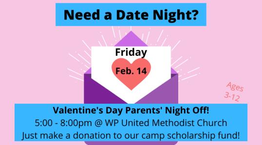 Parents' Night Off 2-14-20