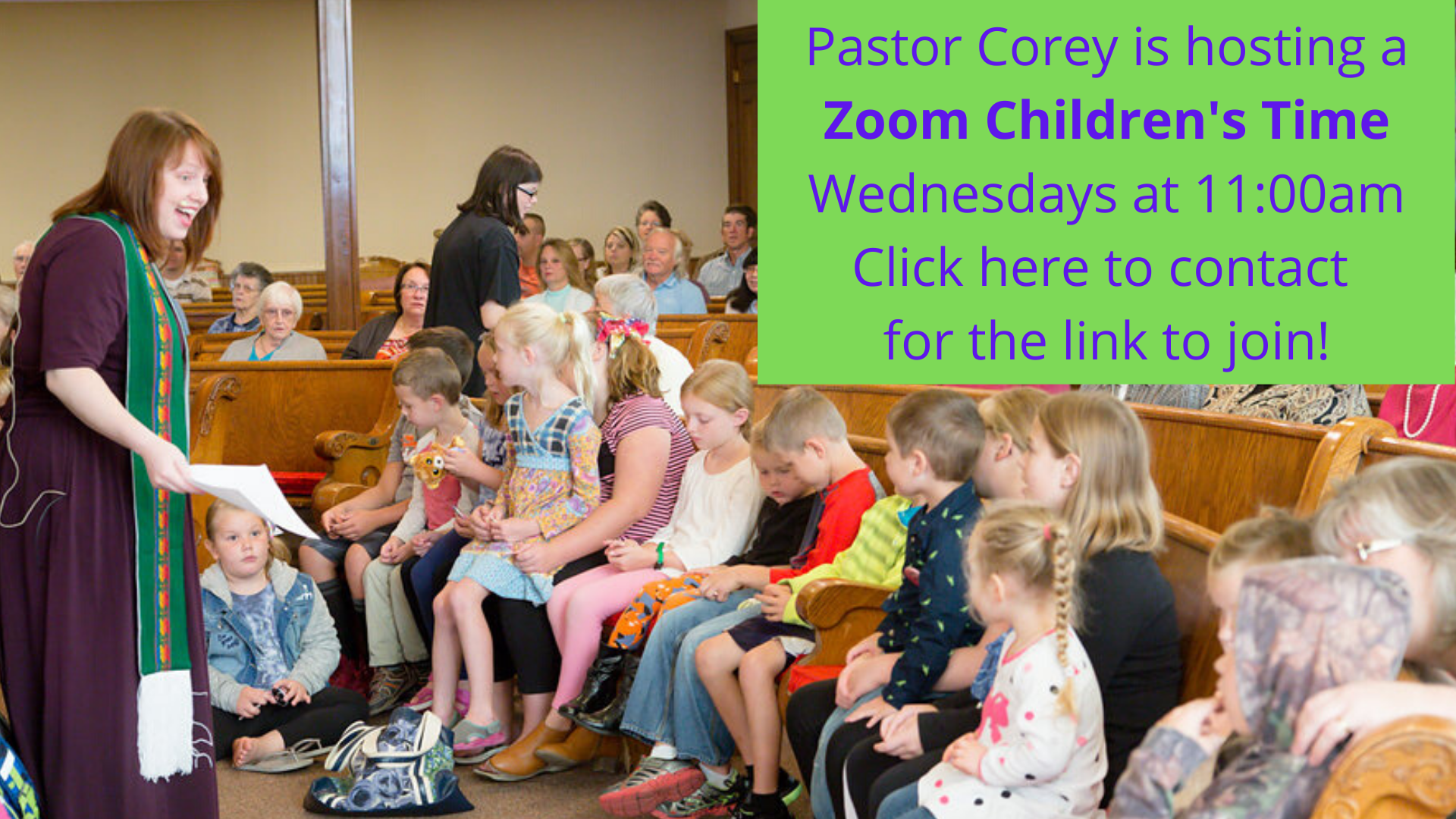 Zoom Children's Time Weds click